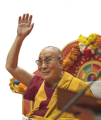 14th Dalai Lama, 2019. Photographer unknown.