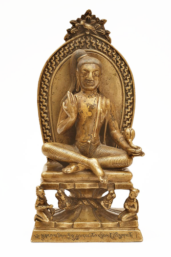 Avalokitesvara or Chenrezig as a form of the god Shiva, made by Chöying Dorje Pritzker Collection.