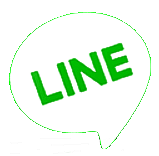 LINE - Free Calls Messages. Logo fra Line's netsted.