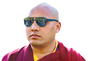 Den 'alternative' Karmapa Ogyen Thrinley, oktober 2017. Foto fra hans netsted.