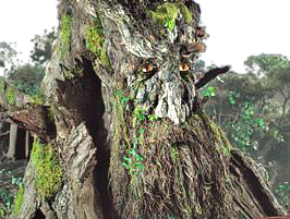 The Lord of the Rings, Treebeard, New Line Cinema copyright.