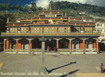 Rumtek Monastery, photographer unknown